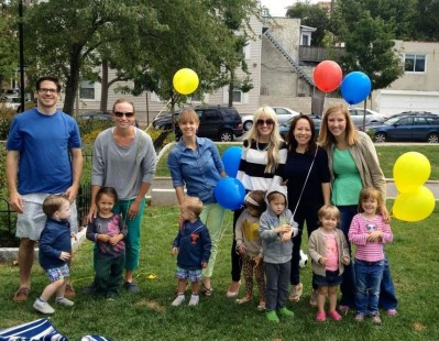 Wharton Kids Club enjoying the Fall Welcome Picnic