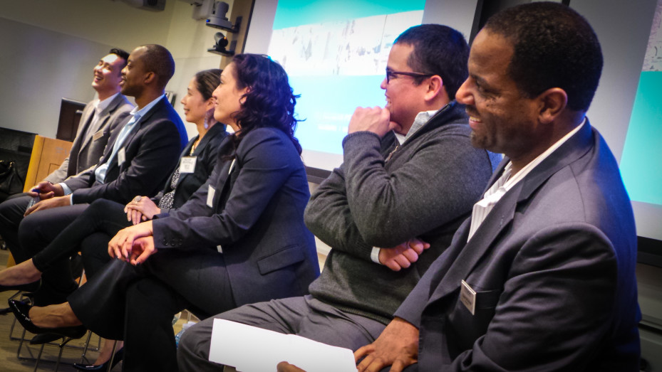 Panelists at a Diversity Event in San Francisco.