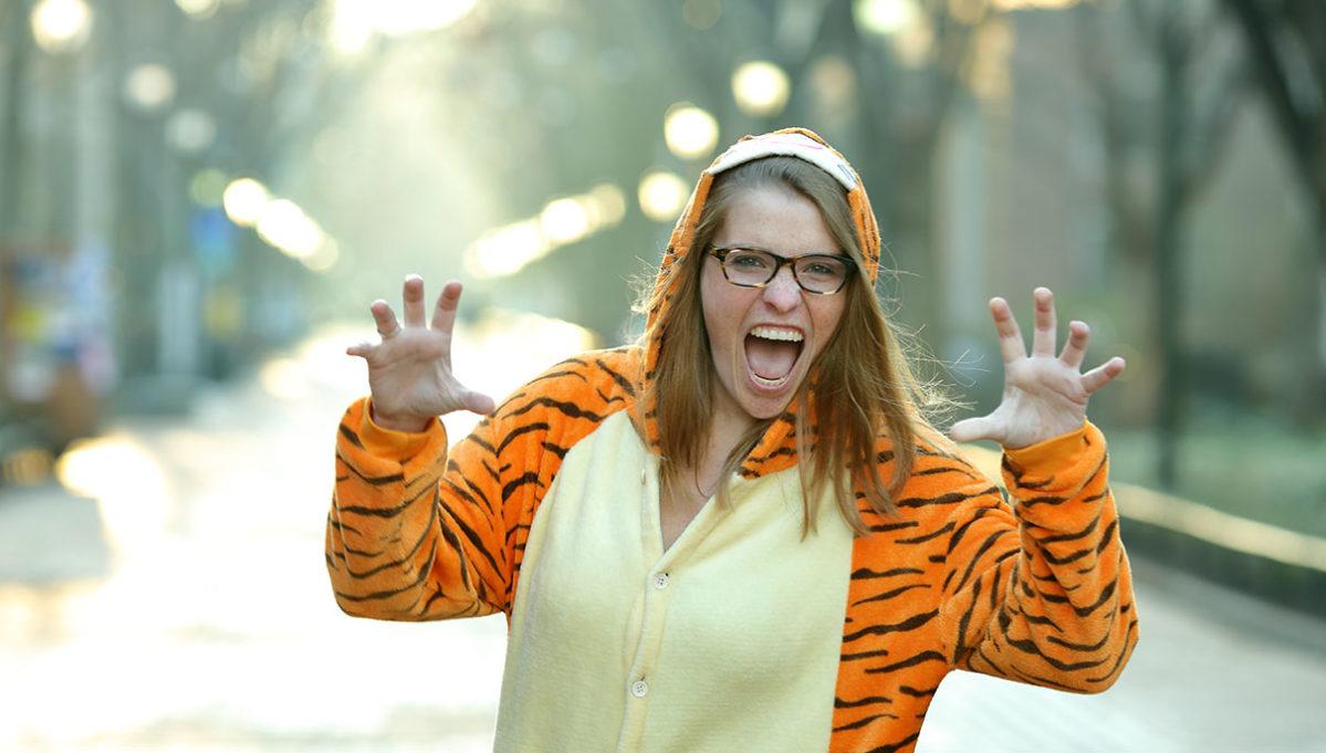 Lauren Daniels, tiger