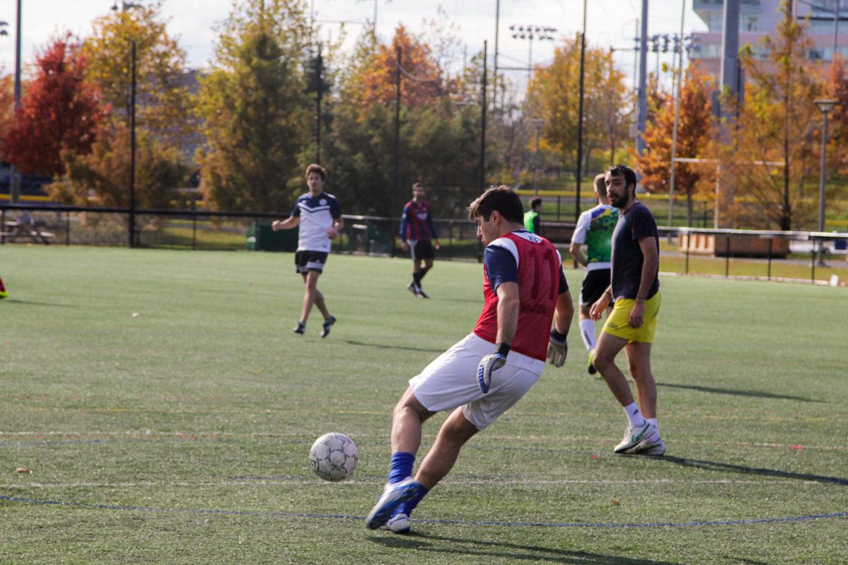 Wharton soccer match
