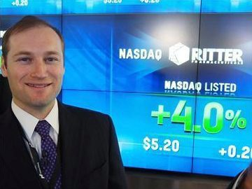 Andrew Ritter after the IPO of Ritter Pharmaceuticals