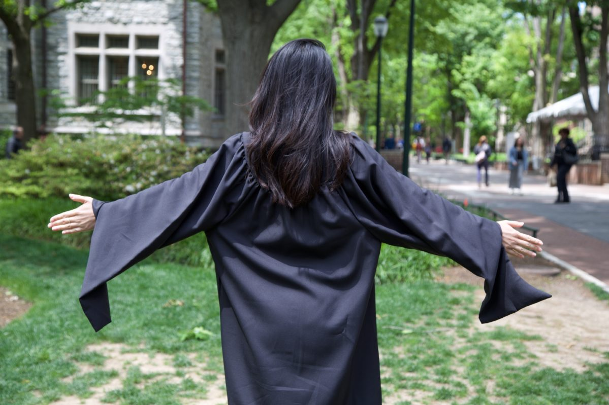 MBA Graduation Gown