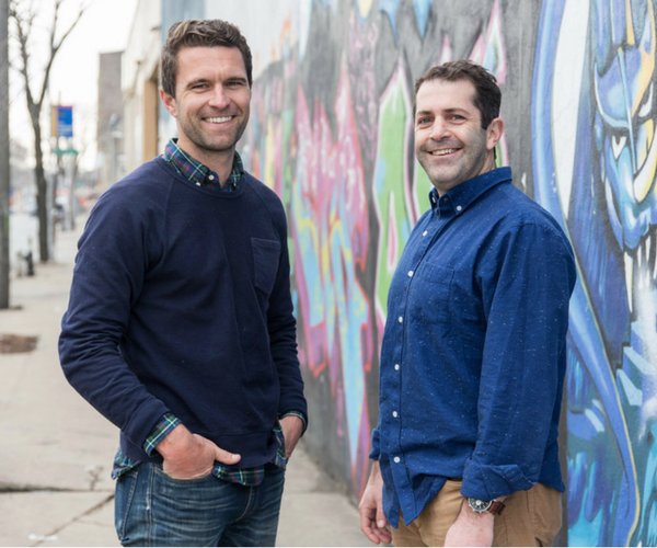 Allbirds founders Tim Brown and Joey Zwillinger