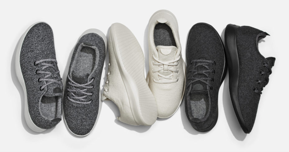 Allbirds sneakers. Courtesy of Allbirds.