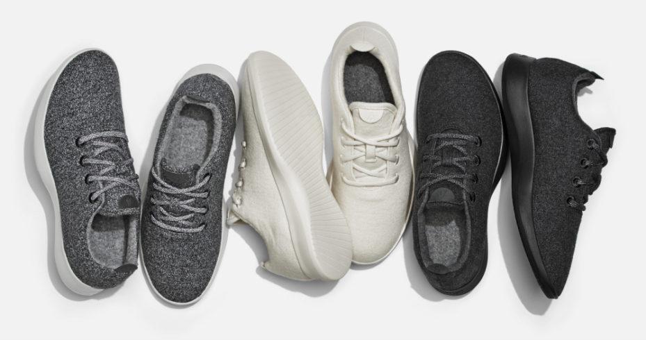Allbirds sneakers. Courtesy of Allbirds.