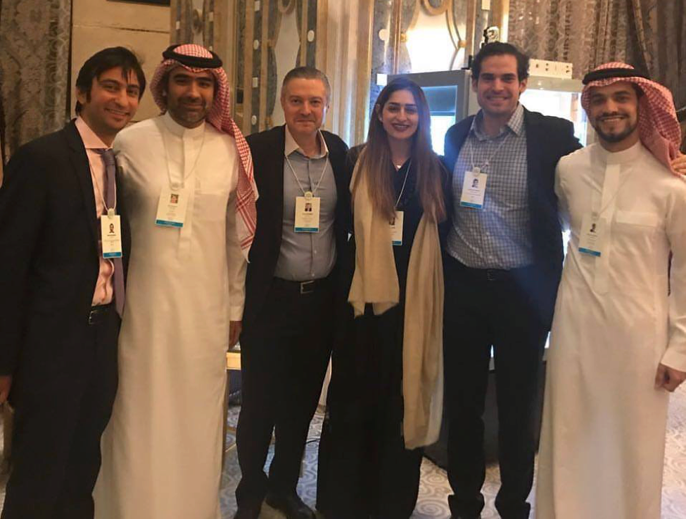 Saudi Arabia meetup - Tala with Wharton alumni