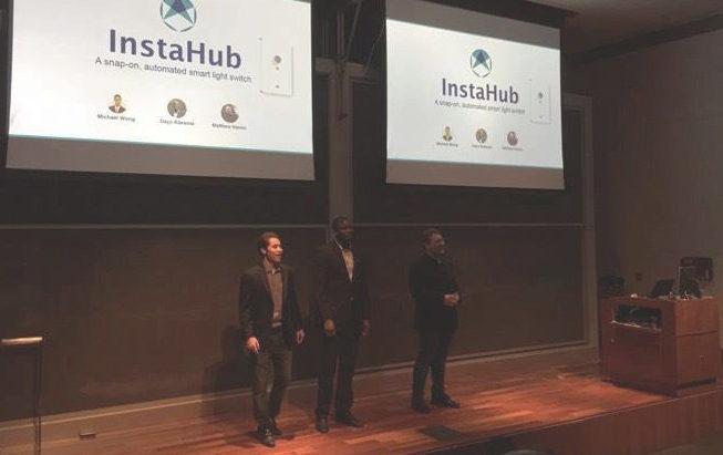 Instahub team presenting