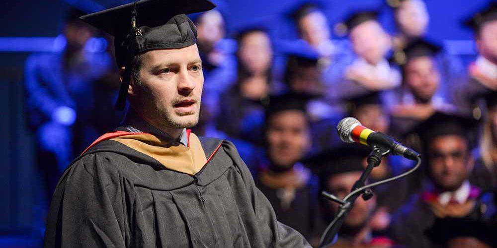 Wharton EMBA Graduation Speaker Gregg John
