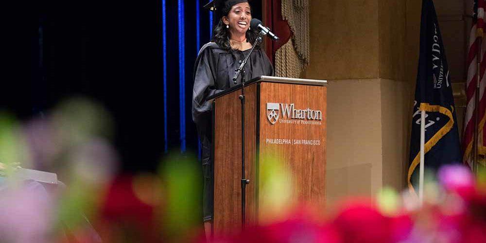 EMBA San Francisco Student Graduation Speaker Vidya Krishna Murthy