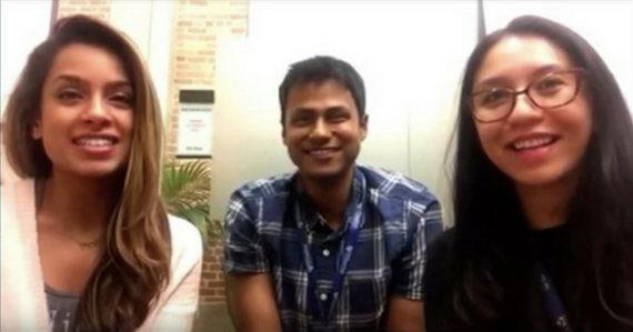 Bianca Gonzalez, Janak Agarwal, and Mythri Papolu