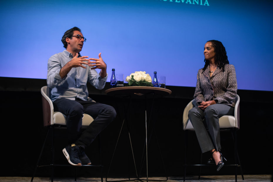Warby Parker's Neil Blumenthal and Prof. Stephanie Creary