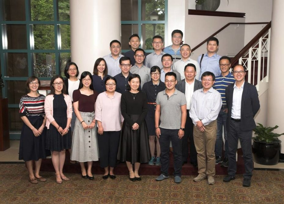 The inaugural class of invited scholars from China-based institutions who participated in the WRDS Advanced Research Scholar Program.