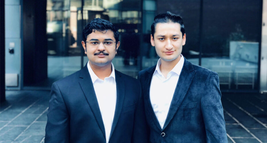 Carbolytics' Vikram Krishnamoorthy, C'20, W'20, and George Pandya, E'20, W'20