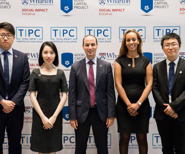 Fordham University MBAs at the total impact portfolio challenge