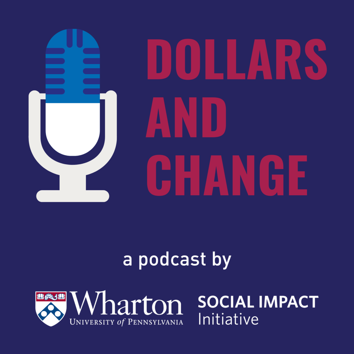 dollars and change album art with microphone icon and wsii logo