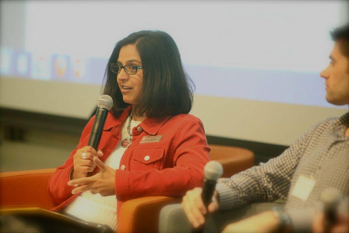 Roma-McCaig speaks to crowd at Career365 Summit