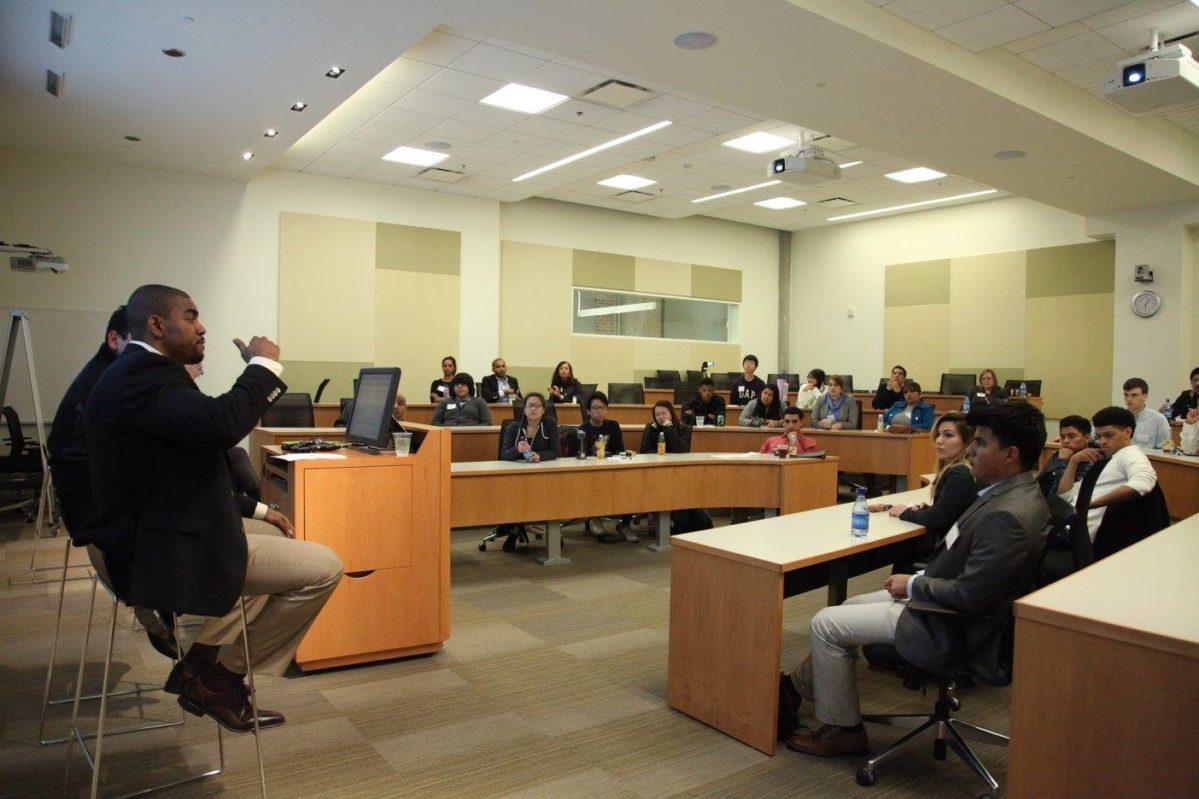 Students at CareerDay365 Summit